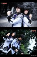 Before and After Contract - Homura Akemi by rae-yei