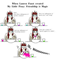 When Lauren Faust created MLP : FIM by norang94