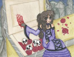 Halloween: Living Dead Girl by shy-orchid-ghost