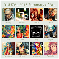 2013 SummaryofArt by Yuuza