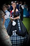 The Highland Ballgown by VertFey