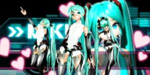 Miku Append Dt by GrayFullbuster21