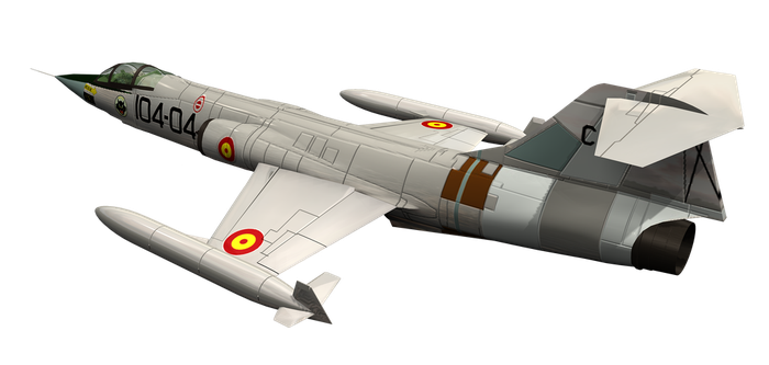 Fighter Jet 01 by Roy3D
