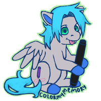 Commission: (Anonymous) Digit by colormymemory