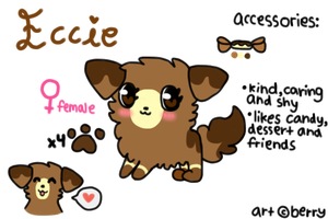Eccie Reference Sheet by berriebubbles