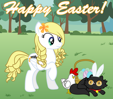 A Soprano and Luanr Easter by Fluffation