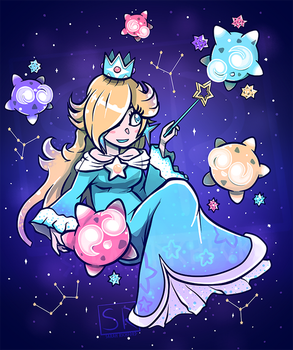 Cosmic Princess - Rosalina shirt design by SarahRichford