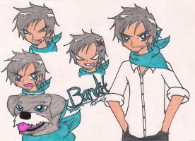 Bandit the Dog by rumiko18