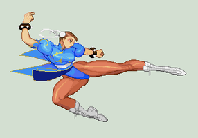 Higher res Chun li again? by Providenceangle