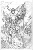 Namor take 2 by Kevin-Sharpe