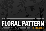 Floral pattern by Snufver