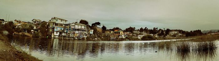 Fake House in a fake lake by JFCespedes