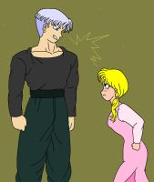 Trunks and Marron spat by Lilly7
