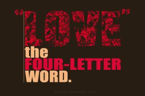 The Four-letter Word by lizelcor
