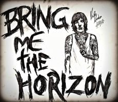 Bring Me The Horizon by skullspikes
