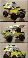 Sci-Fi battle Lego vehicle by RobKing21