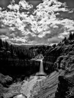 Ram River Falls Alberta by fweddy