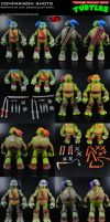 Custom Nickelodeon TMNT Comparison Shots by MintConditionStudios