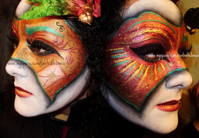 Venetian Mask: Side by Side by anilorac186