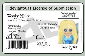 Id Card by ineptartist