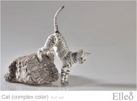 Bjd Cat Elleo 06 by leo3dmodels