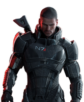 Mass Effect 3 Render by N4PCroft