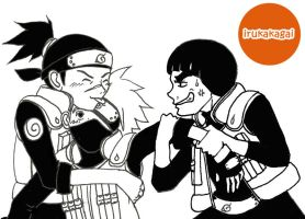 fight over kakashi by saorimaru