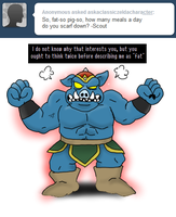 Ask Ganon - Food? by pocket-arsenal