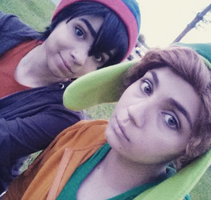 Stan and Kyle by KrysCosplay