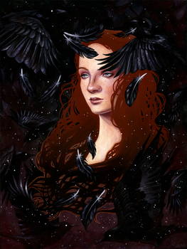 Dark Wings, Dark Words by kellymckernan
