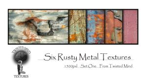 Twisted Mind Rusty Metal Texture Pack Set One by Textures-and-More