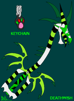 Keyblade : Daxanam's version by DeathDragon13