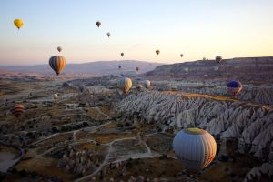 Balloons over Cappadocia 2 by CitizenFresh