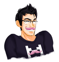 Markiplier!! Version 2.0 by MixedMediaBrewing