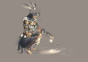 Shaman unfinished by MrCreedy