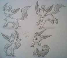 Leafeon by Bluekiss131
