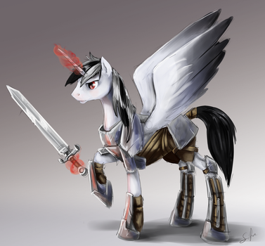 Commission: Luxander by SilFoe