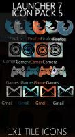 Launcher 7 Icon Pack 5 by DesignsByTopher