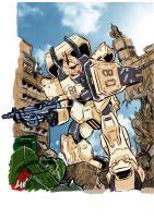 EZ-8 Gundam thing... by JohnsDead