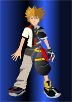 Sora + Roxas Finished Request by madhouse1991
