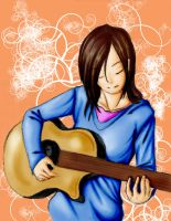 guitarrista by shinue