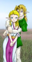 Zeldacouple by T03nemesis