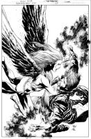 RESURRECTION MAN Issue 5 COVER by JoePrado2010