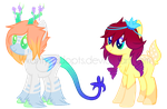 ~Adoptable~. Female Ponies 5-6 :CLOSED: by Xanty-Adopts