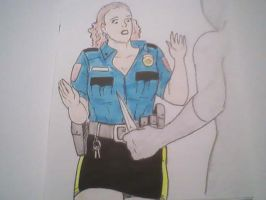 policewomen in trouble by lesther2011
