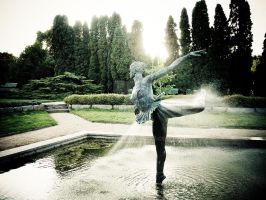 Garden Ballet Dancer by ghito