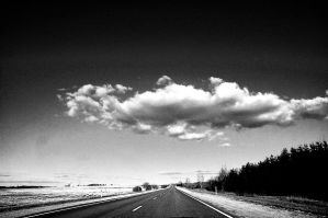 A Cloud Crossed The Road by puu4ux