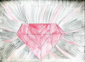 Red Chaos Emerald by emerswell