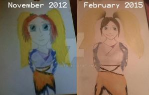 My drawing again (REDRAW) by I-Mee98