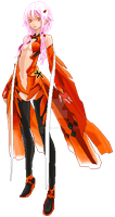 Inori Yuzuriha (Guilty Crown) - Pixel Art by Lakelezz